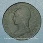 Coins Directoire & Consulat. 5 centimes an 8BB. Strasbourg