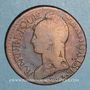 Coins Directoire & Consulat. 5 centimes an 9BB. Strasbourg