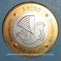 Coins Emetteurs privés. Air France. 3 euros 1996