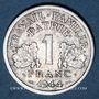 Coins Etat Français (1940-1944). 1 franc 1944C, petit C