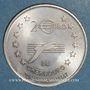 Coins Euro des Villes. Cherbourg (50). 2 euro 1997