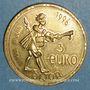 Coins Euro des Villes. Dijon (21). 3 euro 1996