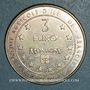 Coins Euro des Villes. Montigny-le-Bretonneux (78). 3 euro 1997