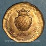 Coins Euro des Villes. Saint-Donat (26). 1,5 euro 1997