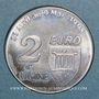 Coins Euro des Villes. Ugine (73). 2 euro 1998