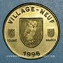 Coins Euro des Villes. Village-Neuf (68). 5 euros 1996