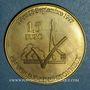 Coins Euro des Villes. Voisins-le-Bretonneux (78). 1,5 euro 1997