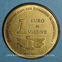Coins Euros des Villes. Vienne (38). 1 euro 1998