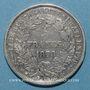 Coins Gouvernement de Défense Nationale (1870-1871). 5 francs Cérès avec légende. 1870A