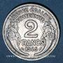 Coins Gouvernement provisoire (1944-1947). 2 francs Morlon aluminium 1945C