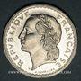 Coins Gouvernement provisoire (1944-1947). 5 francs Lavrillier aluminium 1945