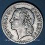 Coins Gouvernement provisoire (1944-1947). 5 francs Lavrillier aluminium 1945B