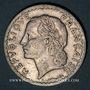 Coins Gouvernement provisoire (1944-1947). 5 francs Lavrillier aluminium 1946B