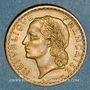 Coins Gouvernement provisoire (1944-1947). 5 francs Lavrillier bronze d'aluminium 1945C