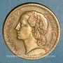 Coins Gouvernement provisoire (1944-1947). 5 francs Lavrillier bronze d'aluminium 1946C