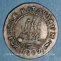 Coins Indes Neerlandaises. Louis-Napoléon (1806-1810). 1/8 gulden 1802