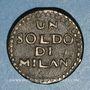 Coins Italie - Mantoue. 2e siège. 1799. 1 soldo n. d.