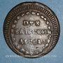 Coins Italie. République de Rome (1798-1799). 2 baiocchi n. d. Ascoli