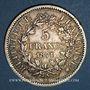 Coins La Commune (18 mars - 28 mai 1871). 5 francs Hercule 1871A. Camélinat