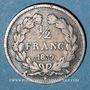Coins Louis-Philippe (1830-1848). 1/2 franc 1835A