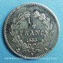 Coins Louis Philippe (1830-1848). 1/4 franc 1833A