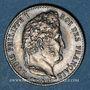 Coins Louis Philippe (1830-1848). 1/4 franc 1834H. La Rochelle. 46 218 ex !
