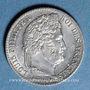 Coins Louis Philippe (1830-1848). 1/4 franc 1843A