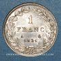 Coins Louis Philippe (1830-1848). 1 franc 1831A