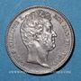 Coins Louis Philippe (1830-1848). 1 franc 1831B. Rouen