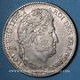 Coins Louis Philippe (1830-1848). 1 franc 1845B. Rouen