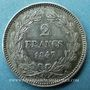 Coins Louis Philippe (1830-1848). 2 francs 1847A