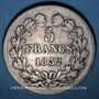 Coins Louis Philippe (1830-1848). 5 francs 1832BB. Strasbourg