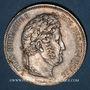 Coins Louis Philippe (1830-1848). 5 francs 1832D. Lyon