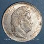 Coins Louis Philippe (1830-1848). 5 francs 1833B. Rouen