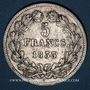 Coins Louis Philippe (1830-1848). 5 francs 1833W. Lille
