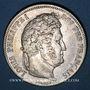 Coins Louis Philippe (1830-1848). 5 francs 1834B. Rouen