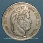 Coins Louis Philippe (1830-1848). 5 francs 1834M. Toulouse