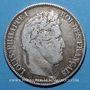 Coins Louis Philippe (1830-1848). 5 francs 1834W. Lille