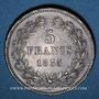 Coins Louis Philippe (1830-1848). 5 francs 1835B. Rouen