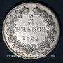 Coins Louis Philippe (1830-1848). 5 francs 1837A