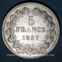 Coins Louis Philippe (1830-1848). 5 francs 1837W. Lille