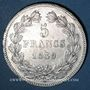 Coins Louis Philippe (1830-1848). 5 francs 1839W. Lille