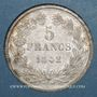 Coins Louis Philippe (1830-1848). 5 francs 1842W. Lille