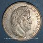 Coins Louis Philippe (1830-1848). 5 francs 1842W. Lille