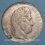 Coins Louis Philippe (1830-1848). 5 francs 1843W. Lille
