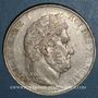 Coins Louis Philippe (1830-1848). 5 francs 1845W. Lille