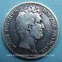 Coins Louis Philippe (1830-1848). 5 francs sans le I, tranche en creux 1830A