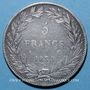 Coins Louis Philippe (1830-1848). 5 francs, tranche en creux, 1830A