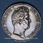 Coins Louis Philippe (1830-1848). 5 francs, tranche en creux, 1831A