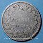 Coins Louis Philippe (1830-1848). 5 francs, tranche en creux, 1831BB. Strasbourg